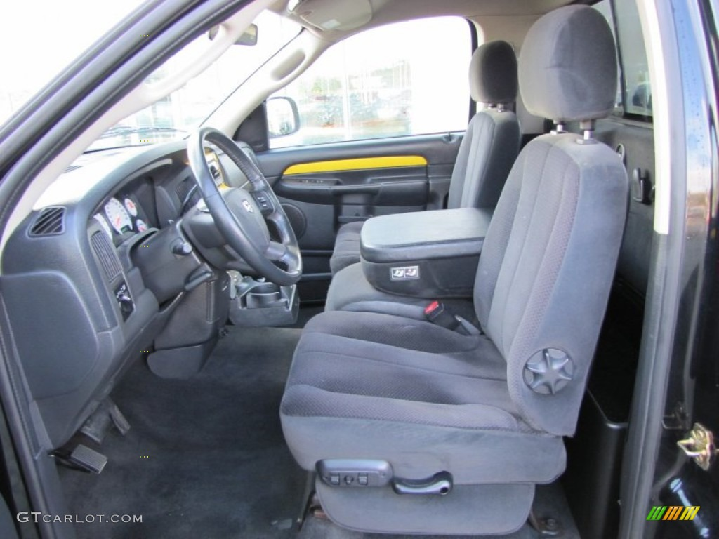 dark slate gray interior 2004 dodge ram 1500 slt rumble. Black Bedroom Furniture Sets. Home Design Ideas