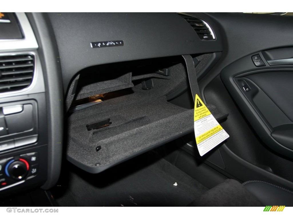 2012 Audi S5 4.2 FSI quattro Coupe Glove Box Photo #56657140 | GTCarLot.com