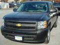 2012 Black Chevrolet Silverado 1500 Work Truck Extended Cab  photo #1