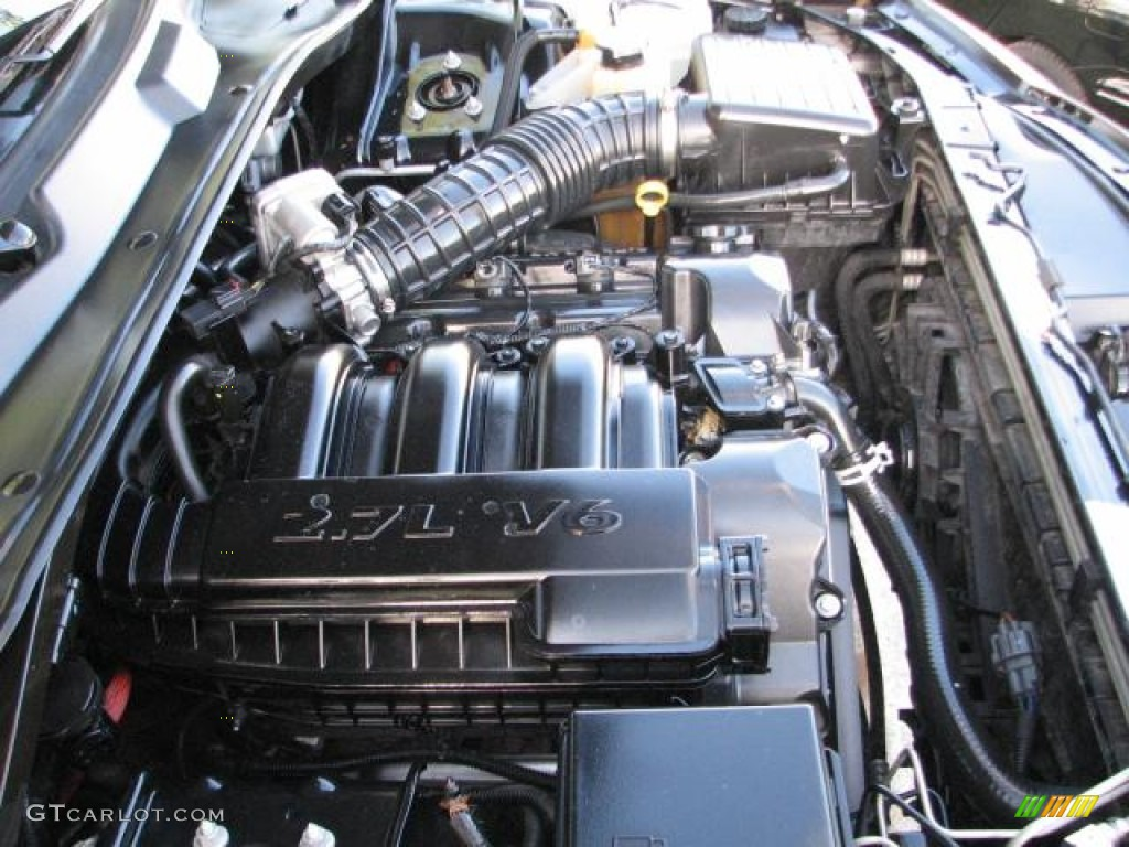 2008 Dodge Charger Se 2 7 Liter Dohc 24 Valve V6 Engine