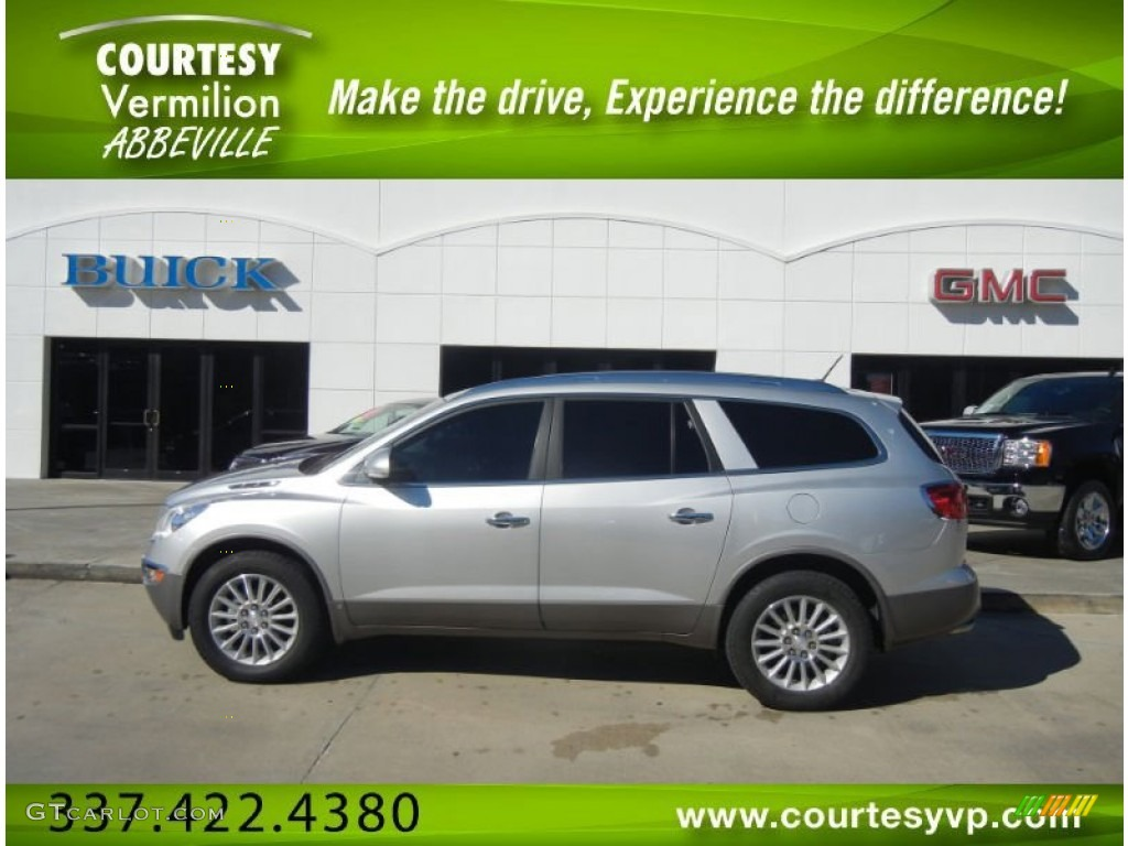 2010 Enclave CX - Quicksilver Metallic / Ebony/Ebony photo #1