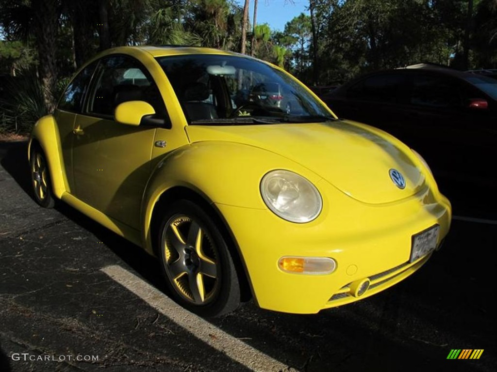 2002 yellow volkswagen new beetle special edition double yellow color concept coupe 56609536. Black Bedroom Furniture Sets. Home Design Ideas