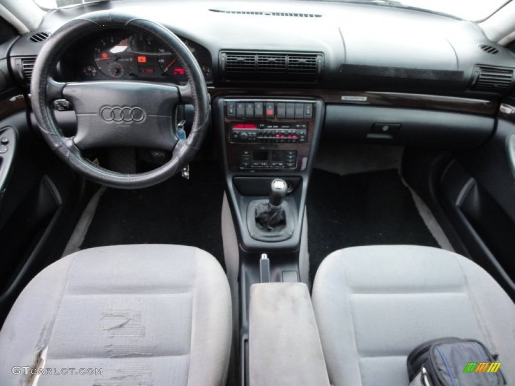 1996 audi a4 2.8 quattro sedan gray dashboard photo #56686391