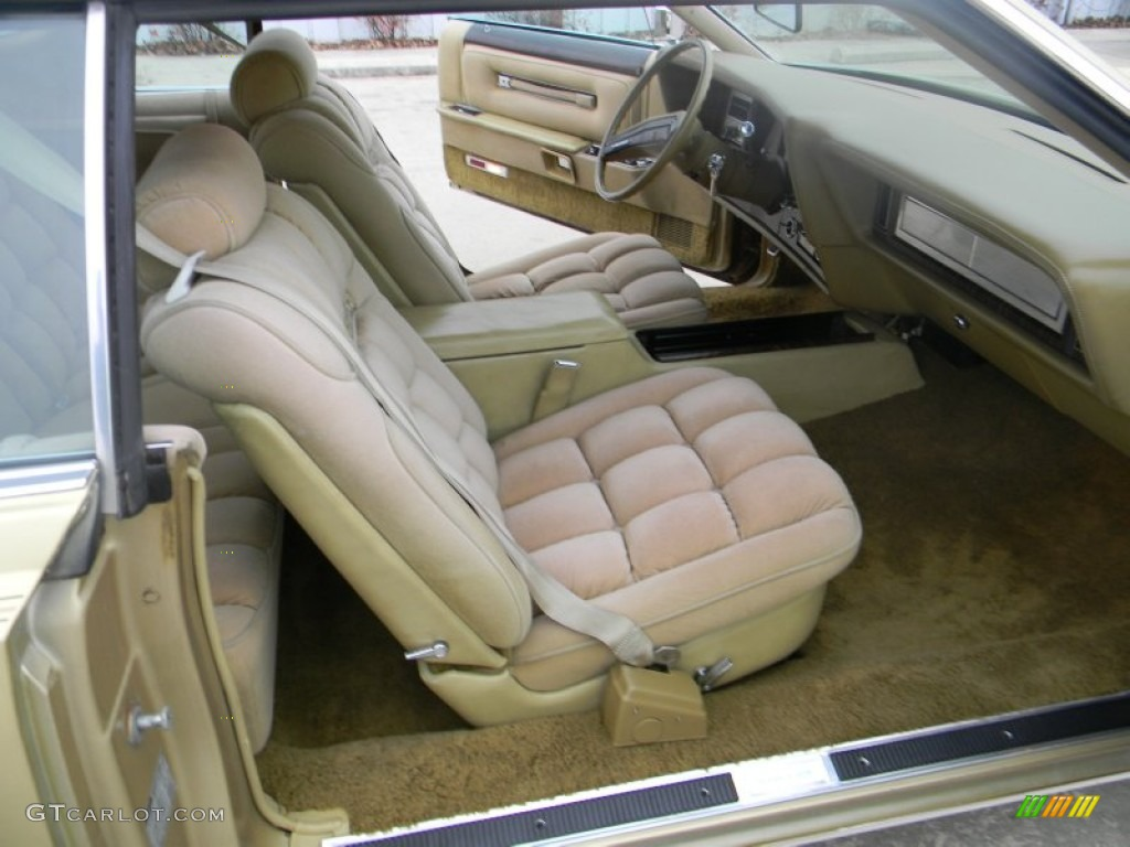 luxury gold interior 1978 lincoln continental mark v diamond jubilee edition coupe photo. Black Bedroom Furniture Sets. Home Design Ideas
