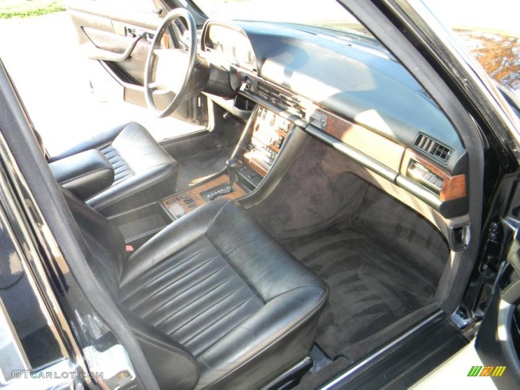 Black Interior 1988 Mercedes Benz S Class 560 Sel Sedan Photo 56689031