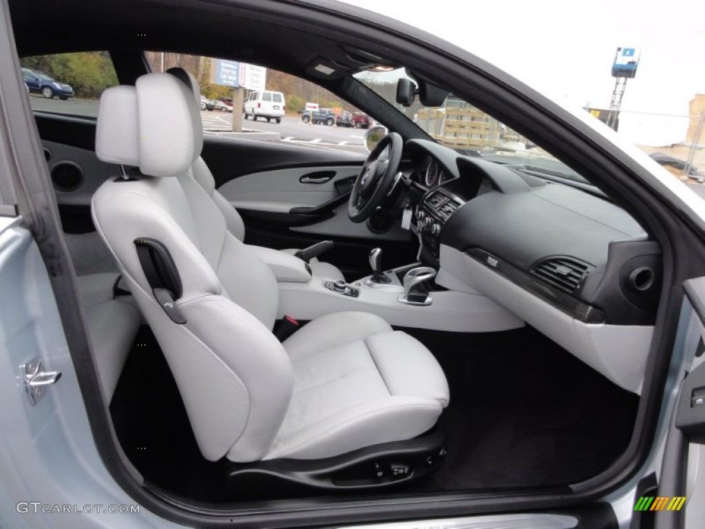 Silverstone Ii Merino Leather Interior 2009 Bmw M6 Coupe