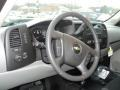 2012 Graystone Metallic Chevrolet Silverado 1500 LS Regular Cab 4x4  photo #10