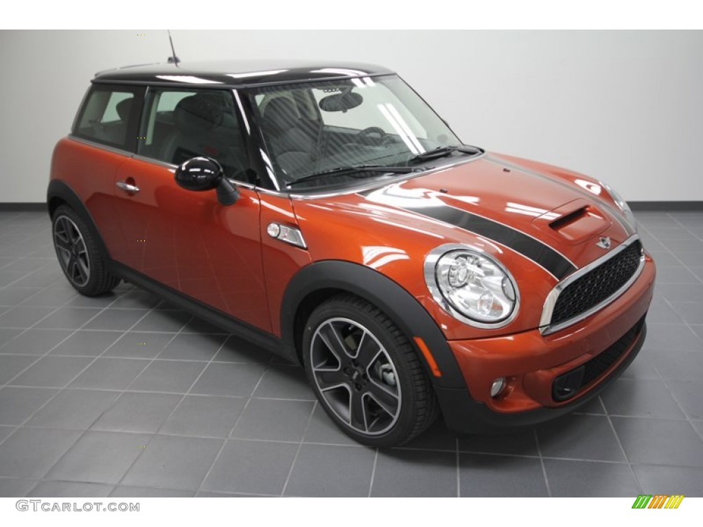 2012 spice orange metallic mini cooper s hardtop 56609981 car color galleries. Black Bedroom Furniture Sets. Home Design Ideas