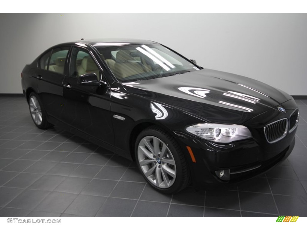 2012 black sapphire metallic bmw 5 series 535i sedan. Black Bedroom Furniture Sets. Home Design Ideas