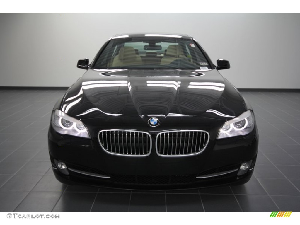 black sapphire metallic 2012 bmw 5 series 535i sedan. Black Bedroom Furniture Sets. Home Design Ideas