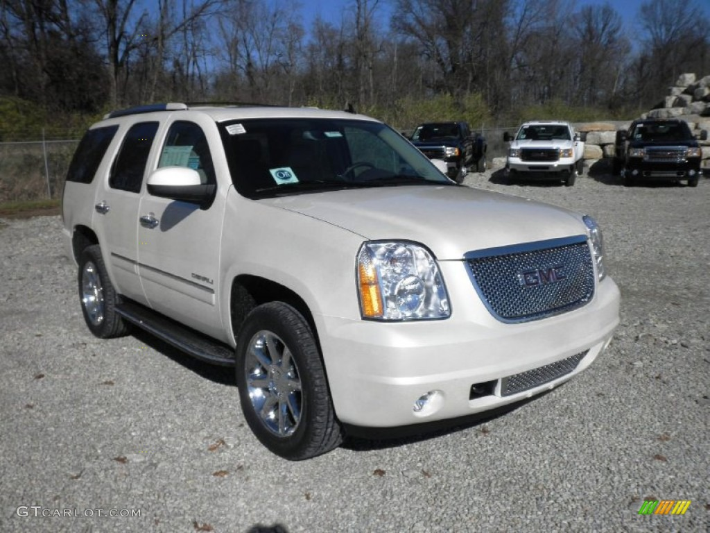 white diamond tricoat 2012 gmc yukon denali awd exterior photo 56711312. Black Bedroom Furniture Sets. Home Design Ideas