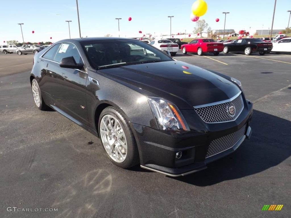 Black Diamond Tricoat 2012 Cadillac Cts V Coupe Exterior
