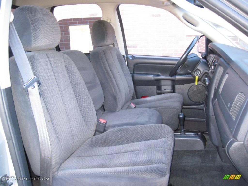 2002 Ram 1500 ST Quad Cab 4x4 - Bright Silver Metallic / Dark Slate Gray photo #15