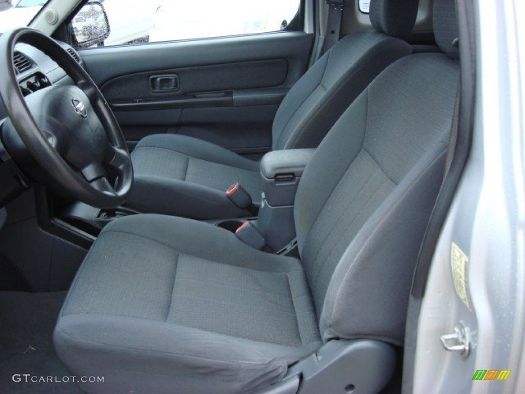 Gray Interior 2004 Nissan Frontier Xe King Cab Desert Runner Photo 56717768