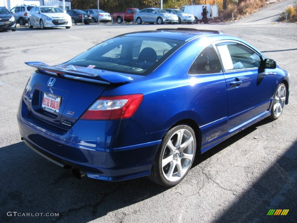 Fiji Blue Pearl 2008 Honda Civic Si Coupe Exterior Photo #56723993