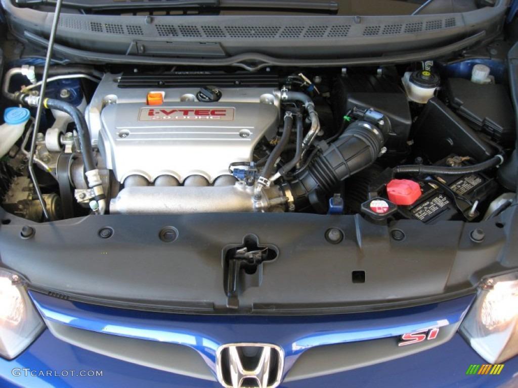 2008 honda civic si coupe 2 0 liter dohc 16 valve i vtec 4 cylinder engine photo 56724023. Black Bedroom Furniture Sets. Home Design Ideas