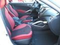 2012 Veloster  Black/Red Interior