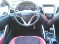 Dashboard of 2012 Veloster