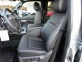 2012 Ingot Silver Metallic Ford F250 Super Duty Lariat Crew Cab 4x4  photo #10