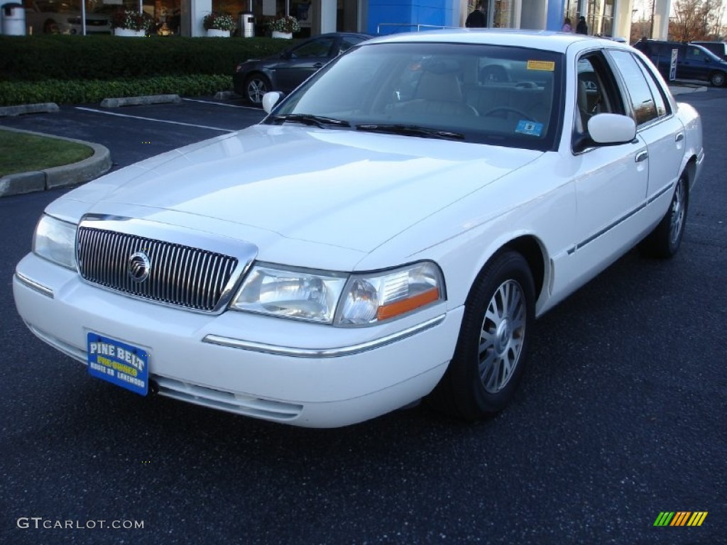 vibrant white 2003 mercury grand marquis ls exterior photo. Black Bedroom Furniture Sets. Home Design Ideas