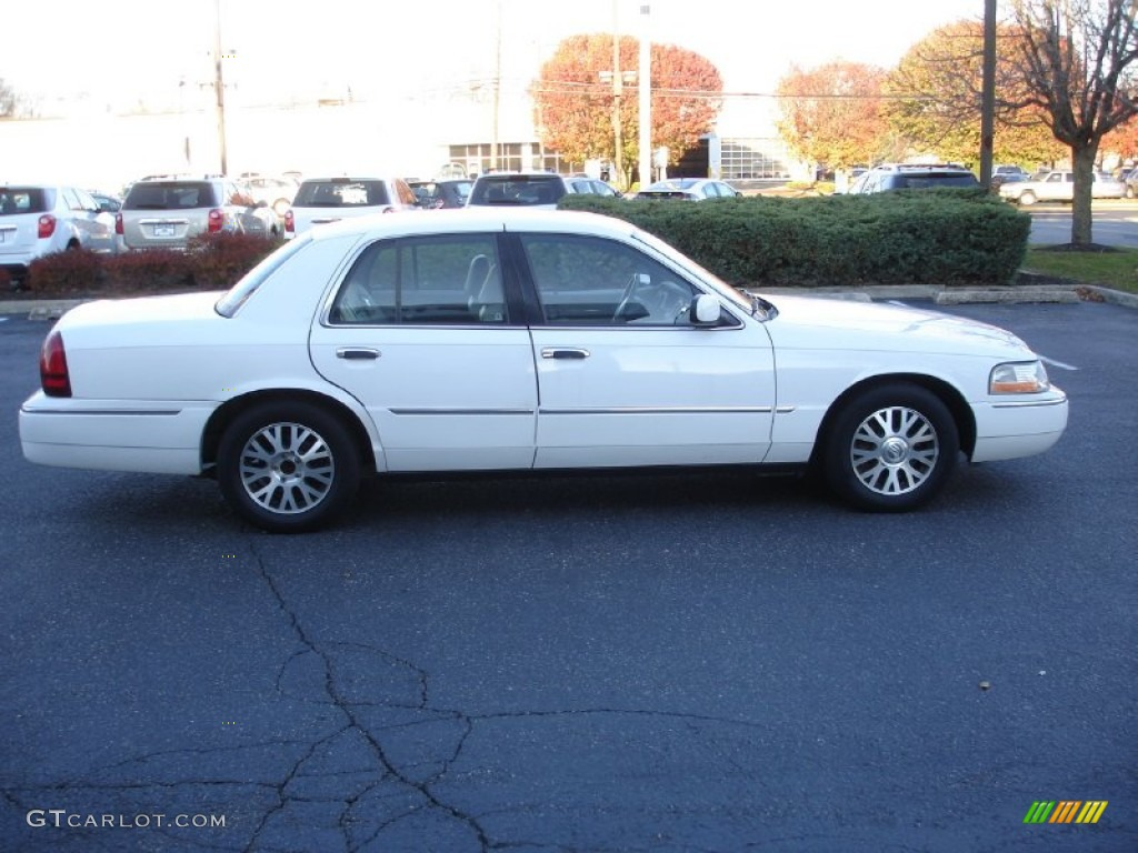 vibrant white 2003 mercury grand marquis ls exterior photo 56743530. Black Bedroom Furniture Sets. Home Design Ideas