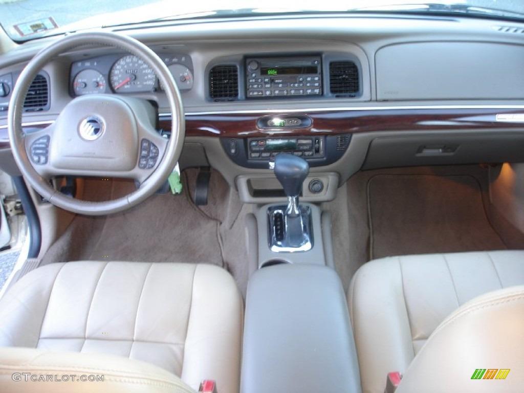 2003 mercury grand marquis ls medium parchment dashboard photo 56743575