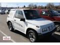 White 1997 Geo Tracker Soft Top 4x4