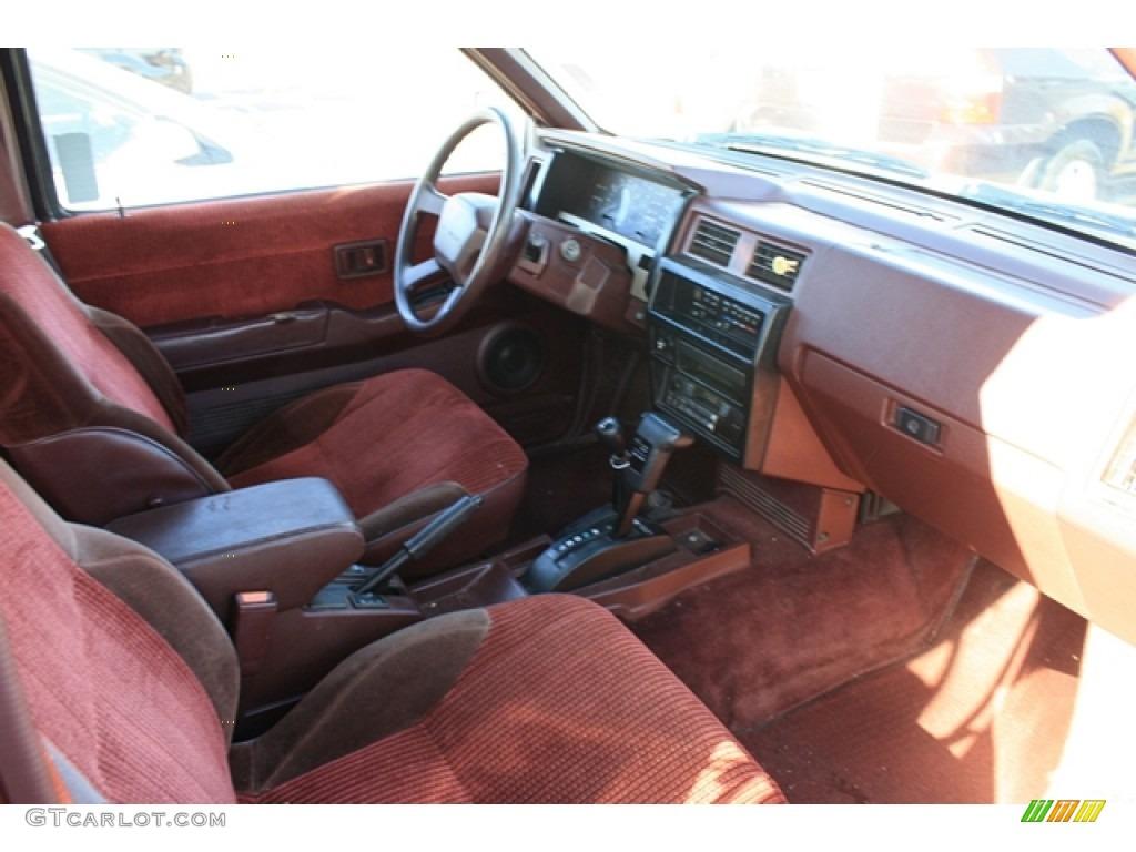1990 Nissan Pathfinder SE 4x4 Red Dashboard Photo ...