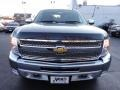 2012 Black Chevrolet Silverado 1500 LT Extended Cab 4x4  photo #3