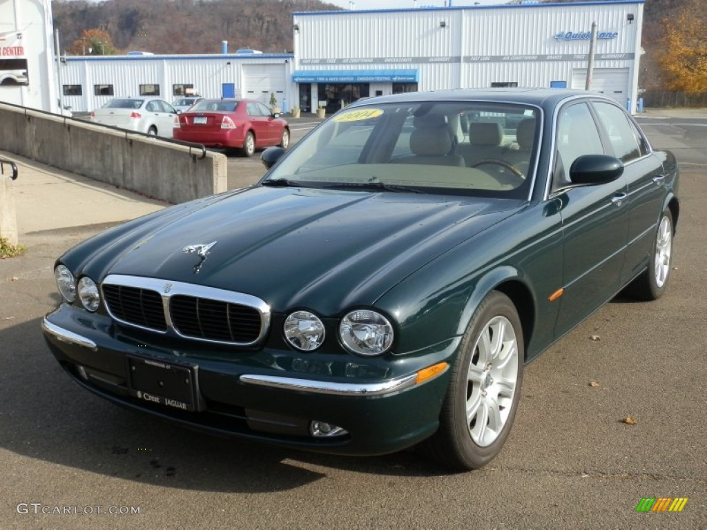 British racing green 2004 jaguar xj xj8 exterior photo for Jaguar xj exterior