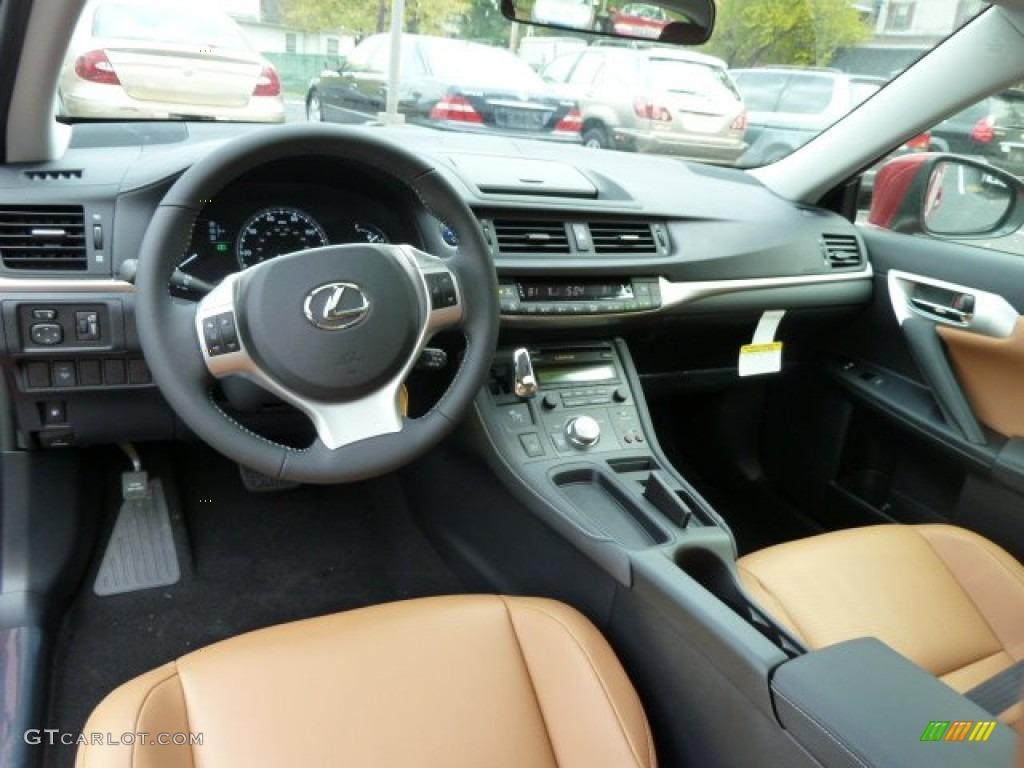 2012 matador red mica lexus ct 200h hybrid premium