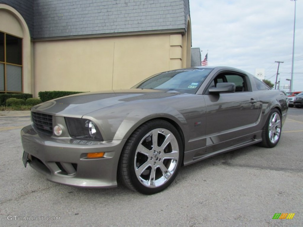 mineral grey metallic 2005 ford mustang saleen s281 supercharged coupe exterior photo 56759052. Black Bedroom Furniture Sets. Home Design Ideas