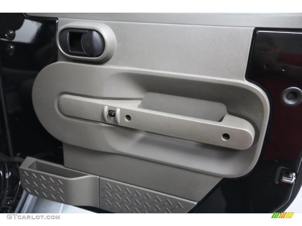 2009 Jeep Wrangler Rubicon 4x4 Door Panel Photos