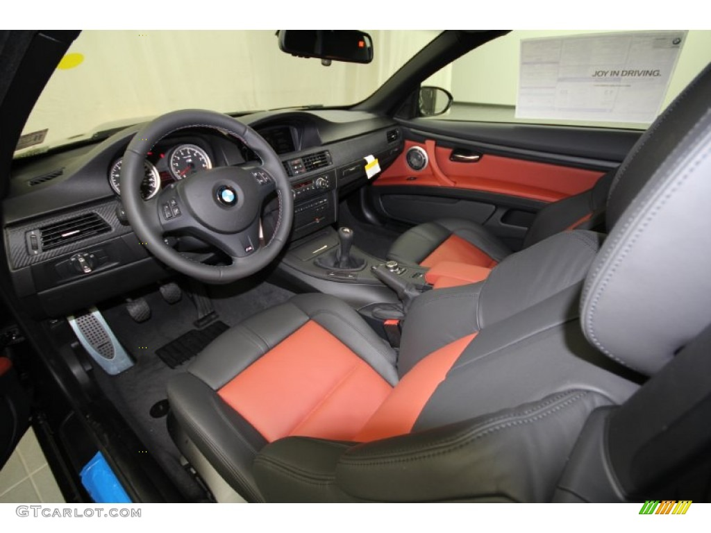 Fox Red Black Black Interior 2012 Bmw M3 Convertible Photo 56760234