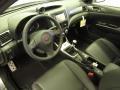 2012 Impreza WRX Carbon Black Interior