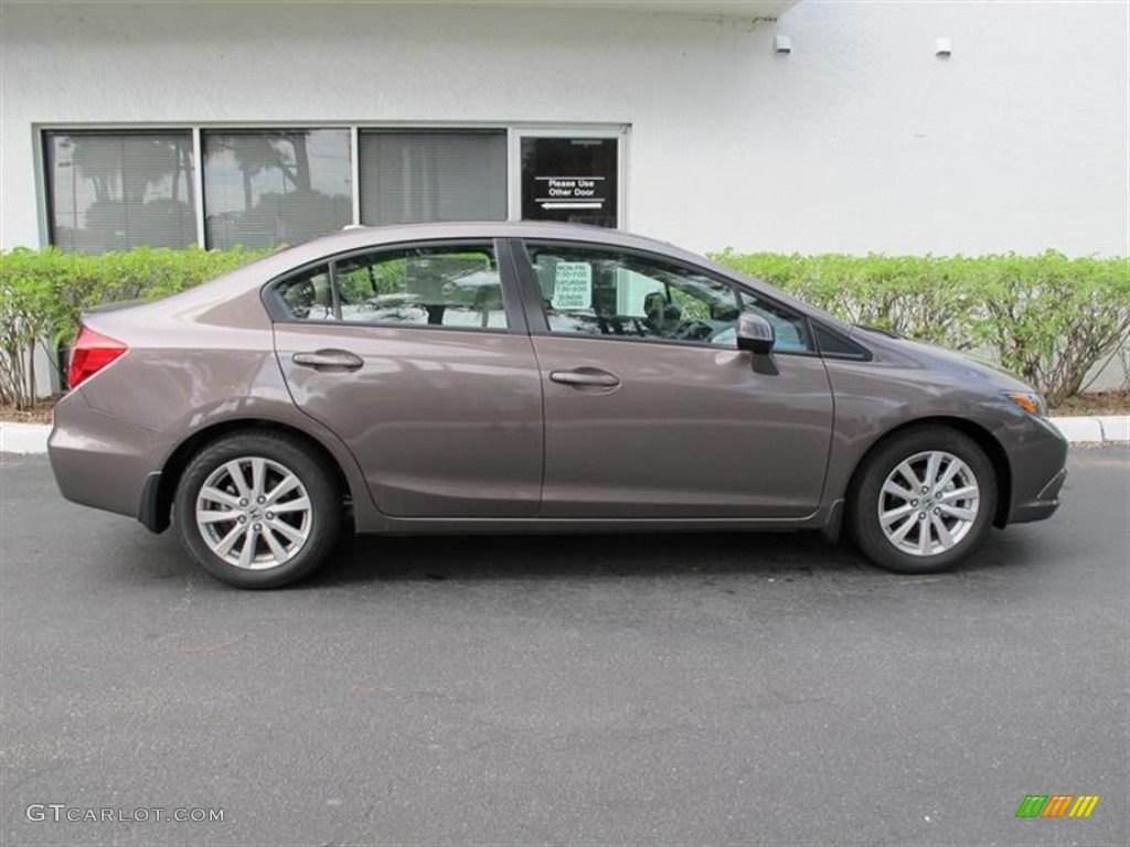 2012 Urban Titanium Metallic Honda Civic Ex L Sedan 56760826 Photo 2 Gtcarlot Com Car