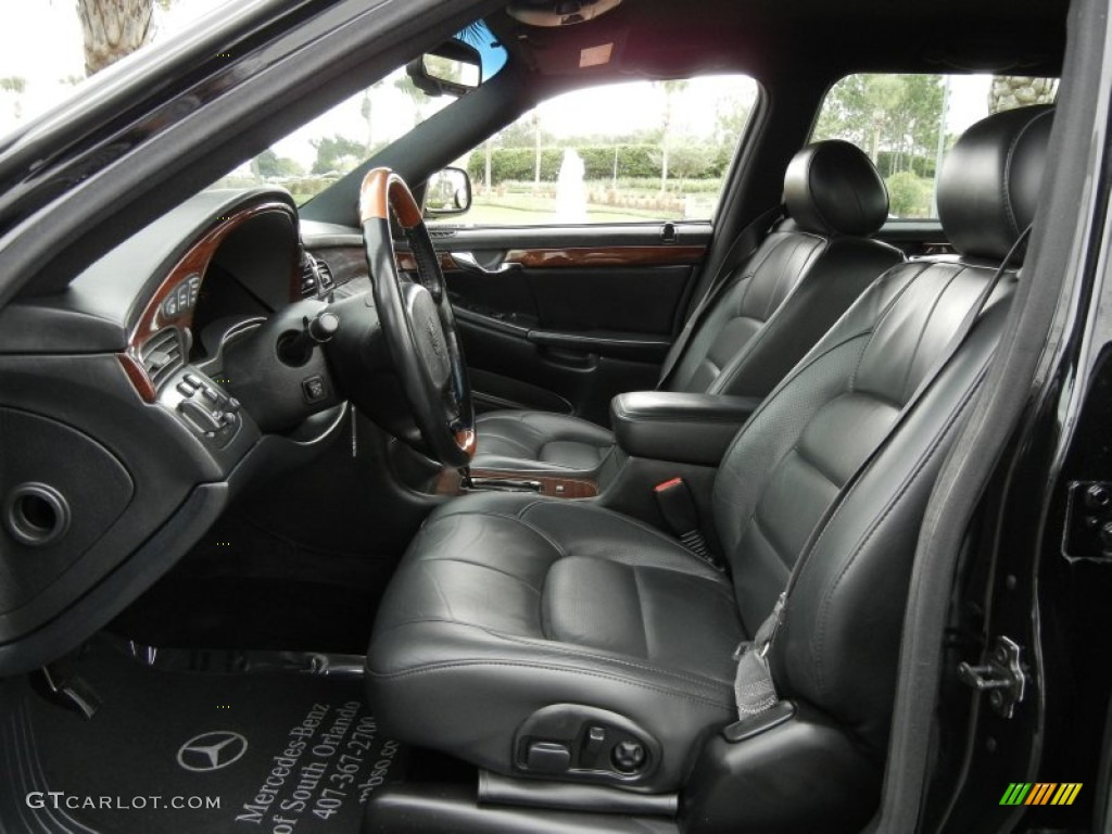 Black Interior 2001 Cadillac Deville Dts Sedan Photo
