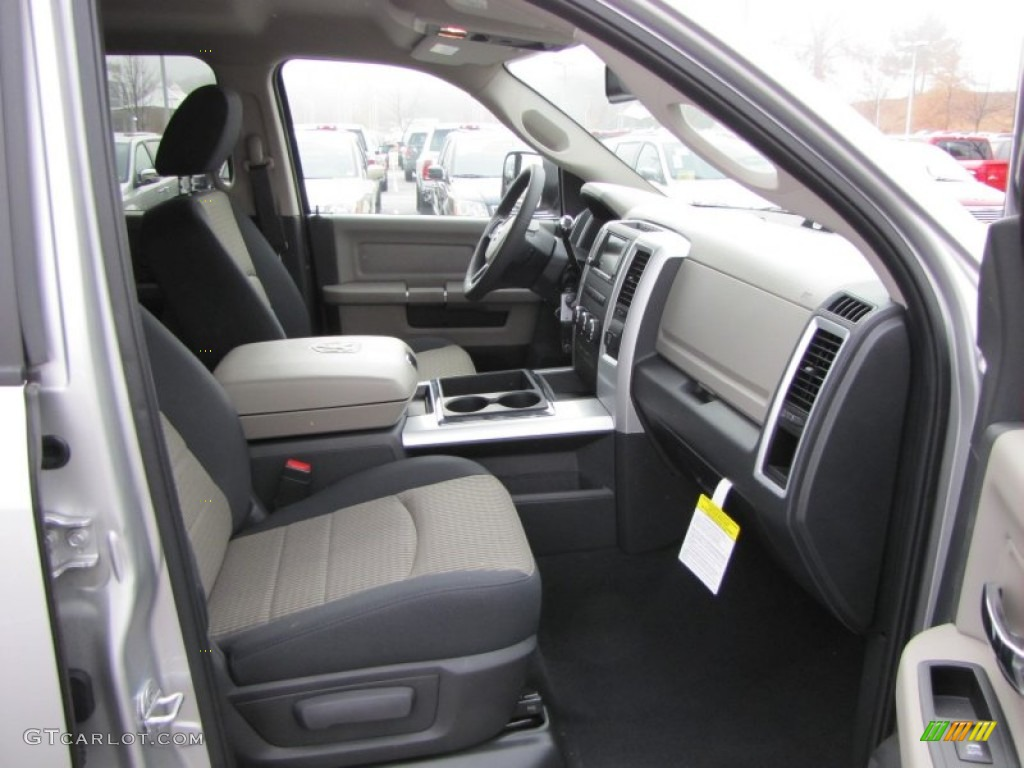 Dark slate/medium graystone interior 2012 dodge ram 3500 hd big.