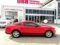2011 Race Red Ford Mustang V6 Coupe  photo #6