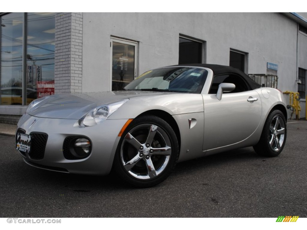 2008 cool silver pontiac solstice gxp roadster 56789235. Black Bedroom Furniture Sets. Home Design Ideas
