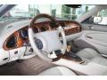 2000 Jaguar XK Ivory Interior Prime Interior Photo