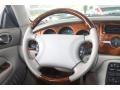 2000 Jaguar XK Ivory Interior Steering Wheel Photo