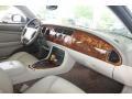 2000 Jaguar XK Ivory Interior Dashboard Photo