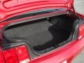 2008 Ford Mustang Medium Parchment Interior Trunk Photo