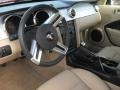 Medium Parchment Prime Interior Photo for 2008 Ford Mustang #56817577