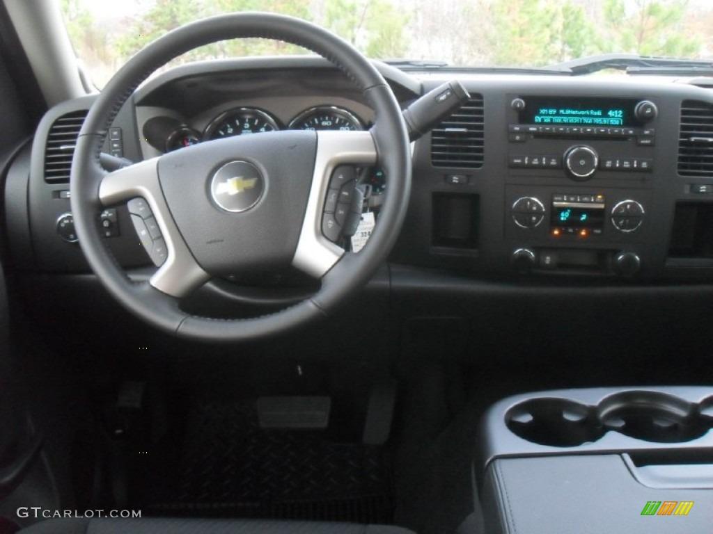 2012 Silverado 1500 LT Crew Cab - Black / Ebony photo #14