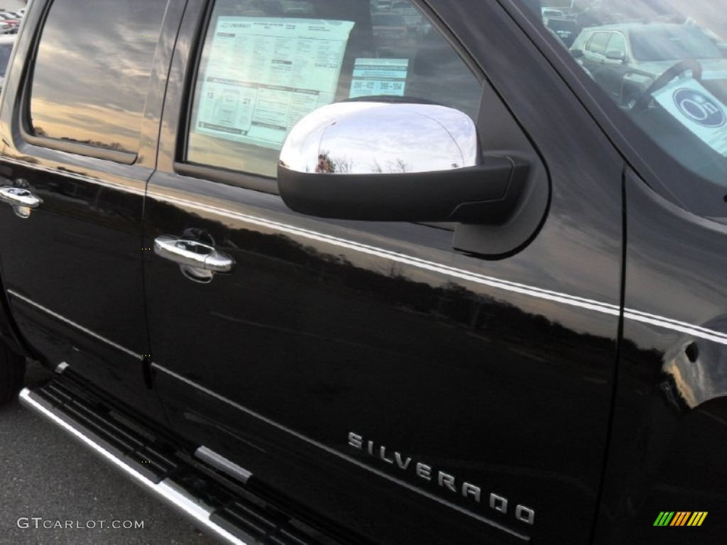 2012 Silverado 1500 LT Crew Cab - Black / Ebony photo #21