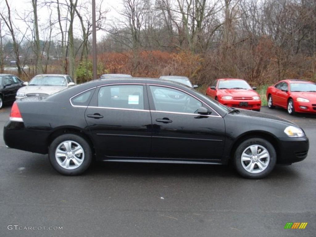 Black Chevrolet Impala