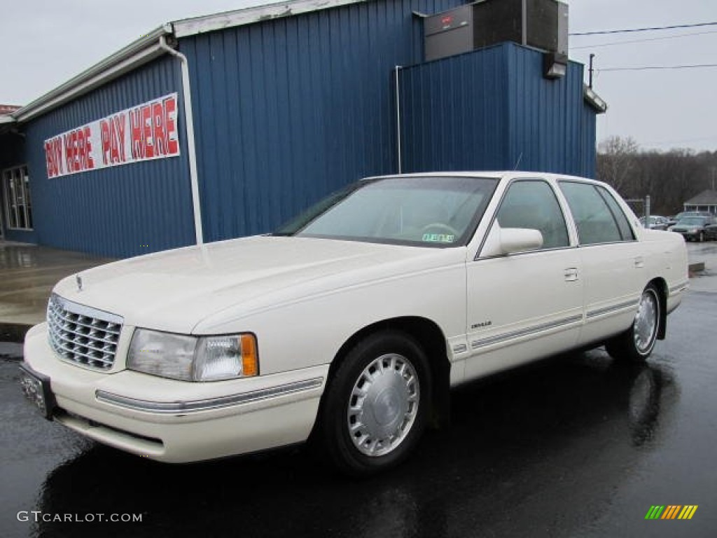 1998 white cadillac deville sedan 56828160 car color galleries. Cars Review. Best American Auto & Cars Review