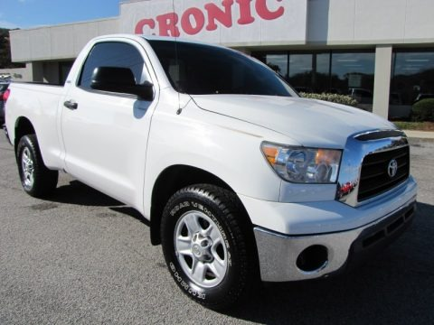 2008 Toyota Tundra SR5 Regular Cab Data, Info and Specs